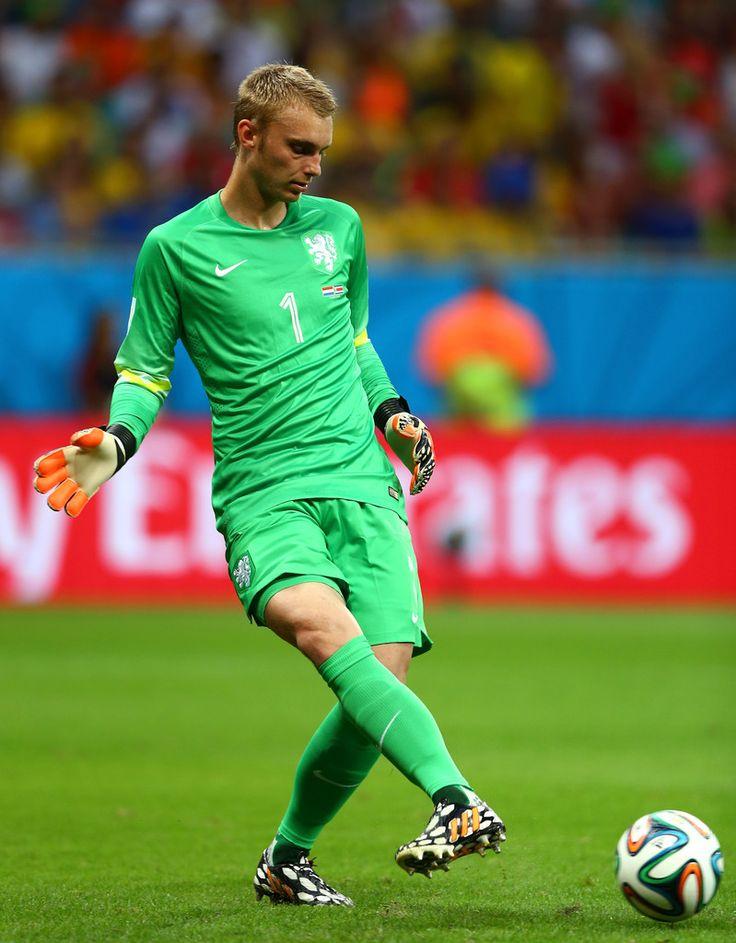 Jasper Cillessen Photos: Netherlands v Costa Rica: Quarter Final - 2014 FIFA World Cup Brazil