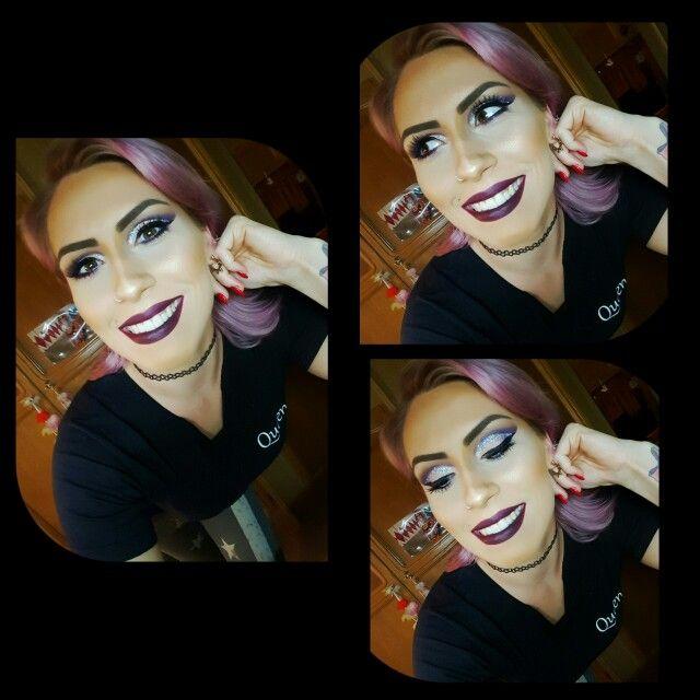 Pink hair #pinkhair #pink #schwarzkopf #strawberryblonde #makeuplover #makeup #showgirl #circus #cirque #aerialist #maclipstick #macfoundation #mac #glitter #sephora #essence #rimmellondon #revolution #nocibe #sleek