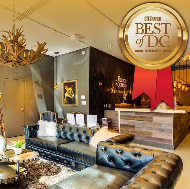 Were Excited To Announce That Escape Room Live Georgetown Has Won The Best Of Dc 2019 For Best Escape Room By Washingtoncity Escape Room Live Escape Room Room