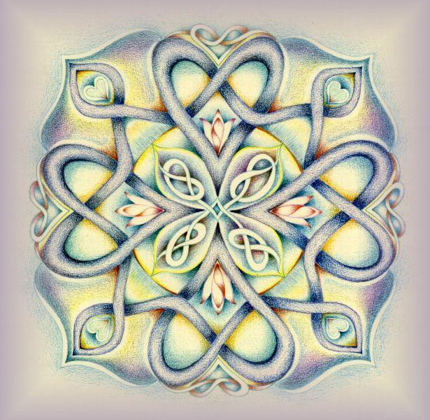 Mandala's tekenen met Hannie de JongPicture 50 « | Mandala's