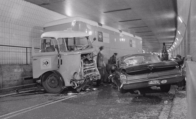 ¿Rotterdam - Ongeval Maastunnel