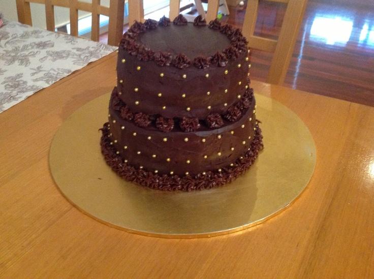 Celebration 2 tier chocolate cake