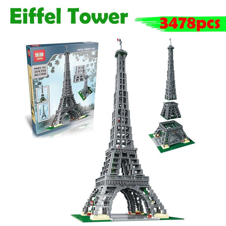 Incredible Lego Eiffel Tower Stands Over Four Feet Tall Eiffel