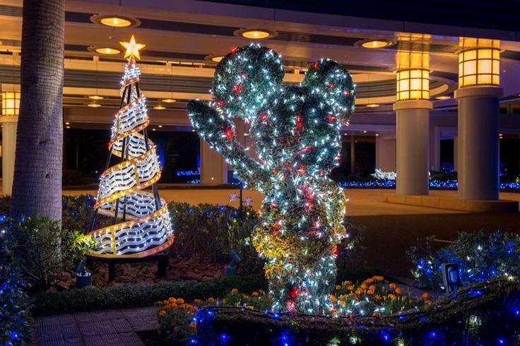 東京ディズニーリゾート,ディズニーホテル,ディズニーアンバサダーホテル,クリスマス,イルミネーション