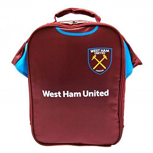 West Ham FC Official Insulated Football Kit Lunch Bag One Size Claret *** Click on the image for additional details.Note:It is affiliate link to Amazon.