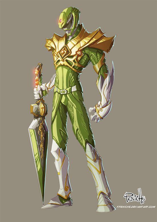 Ranger Verde por Fernando Peniche