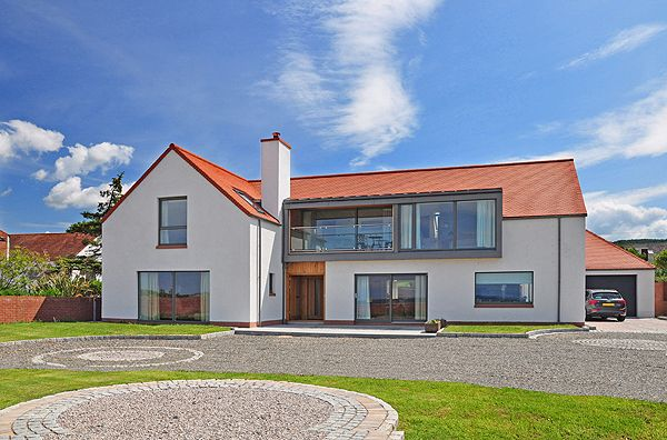 High Spec Low Energy House Scotland Dormer From Simon