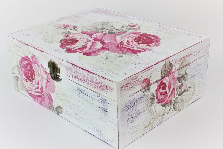 How to make a decoupage box - Easy Tutorial - DIY
