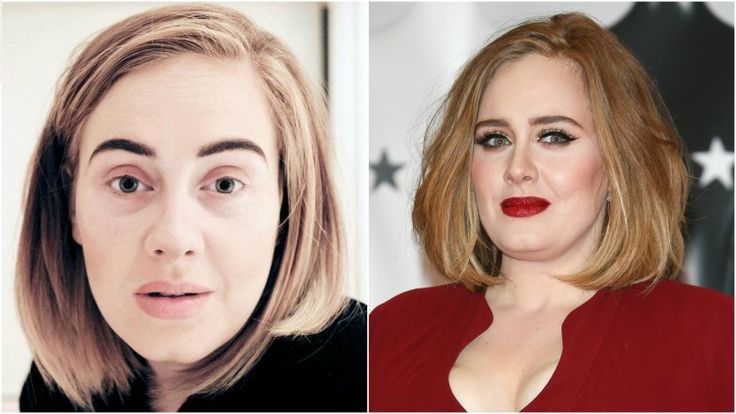 Celebs who are completely unrecognizable without makeup