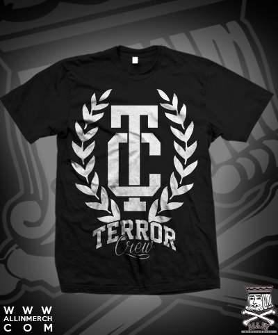 TERROR CREW TC LAURELS TEE (FINAL PRINT RUN)