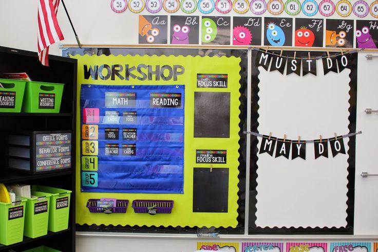 Tunstall's Teaching Tidbits: Teacher Week Day 2 Classroom Digs!