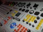surplus electronic components including a master control board from a television station dumpster