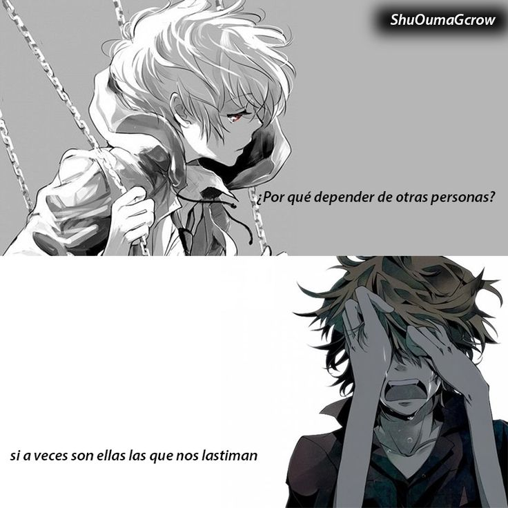 Porque? #anime #ShuOumaGcrow #Anime #Frases_anime #frases
