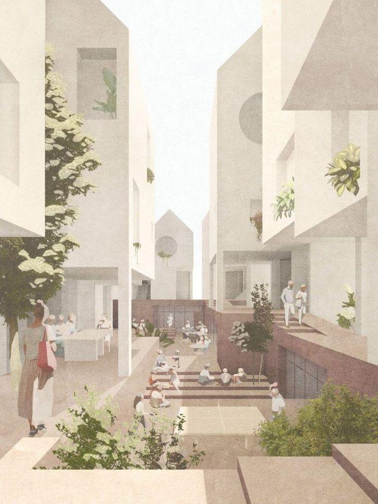 90+ Creative Ways Architectural Collage Ideas