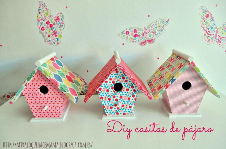 DIY casitas pajaro ( birdhouse )