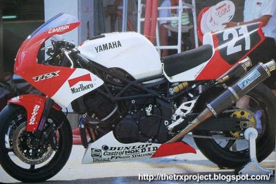 The TRX Project. The Yamaha TRX 850 blog: Sexy!!
