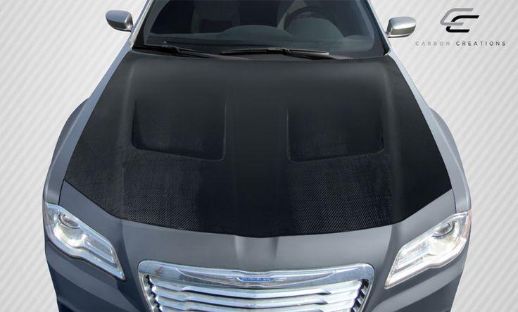 2011-2016 Chrysler 300 Carbon Creations Brizio Hood - 1 Piece
