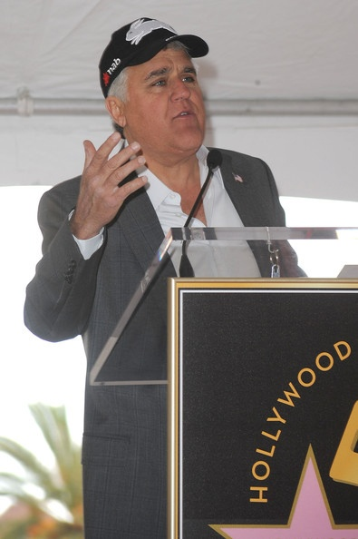 Comedian Jay Leno.