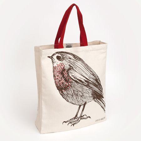 £12.50 Robin Tote Bag