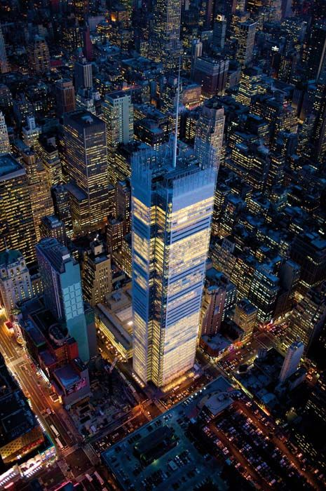 The New York Times Building - Renzo Piano
