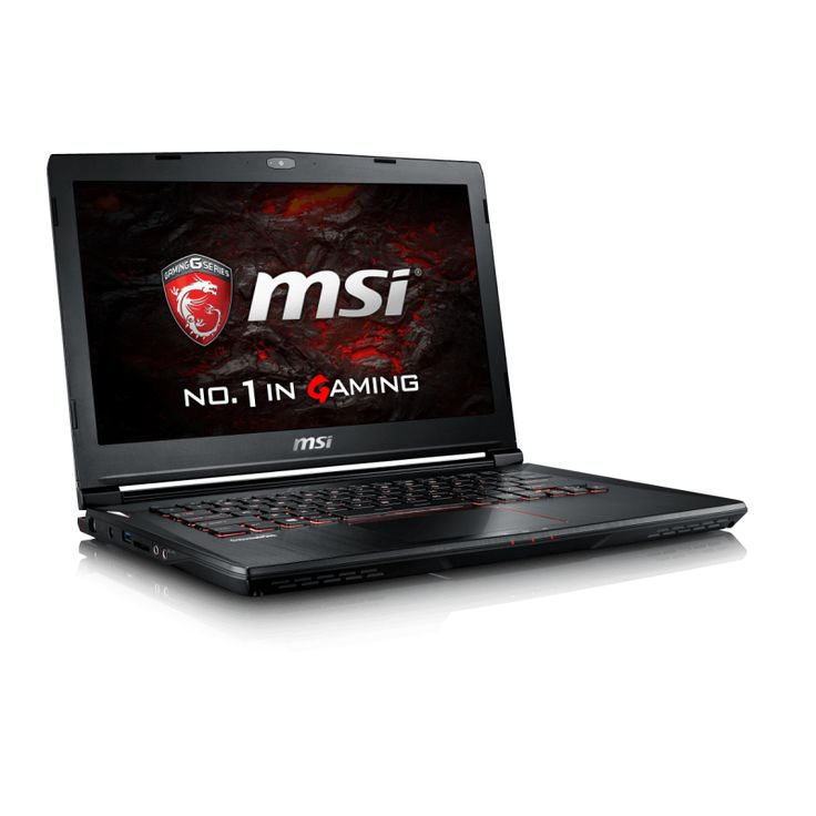 "Notebook MSI GS43VR 14""FHD/i7-7700HQ/16GB/SSD128GB+1TB/GTX1060-6GB/"