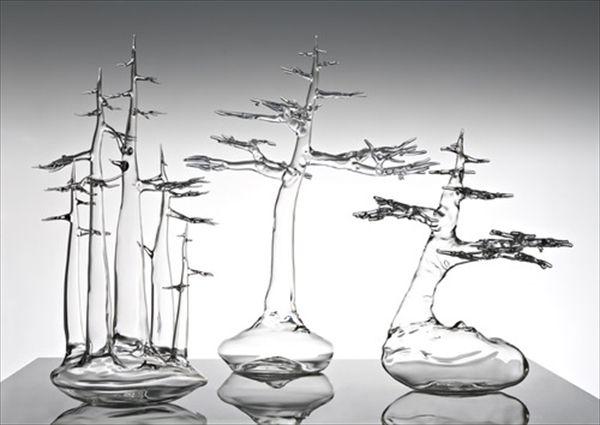 美しい、ただその一言に尽きる 氷の彫刻のようなガラス細工 - http://naniomo.com/archives/7115