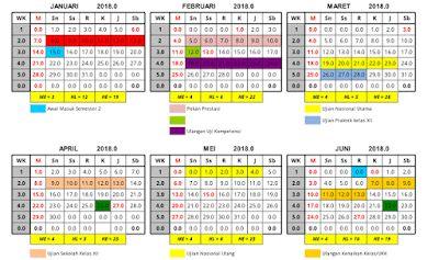 Pin Di Kalender