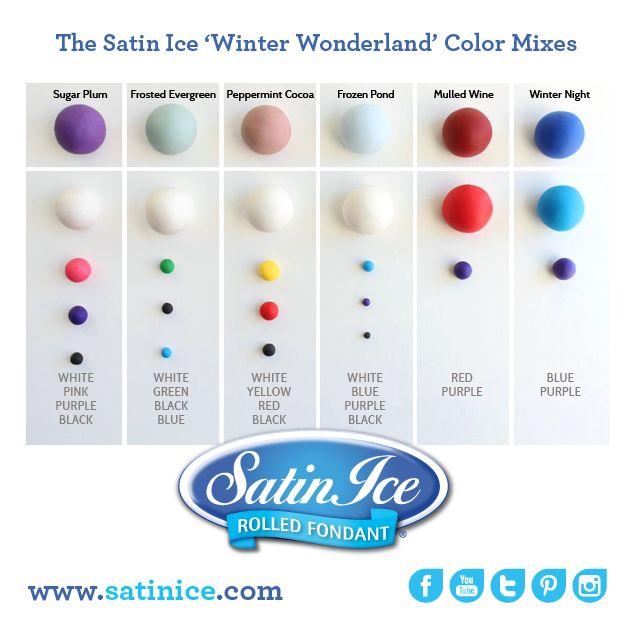 47 best Fondant color mix images on Pinterest | Color mixing, Colour ...