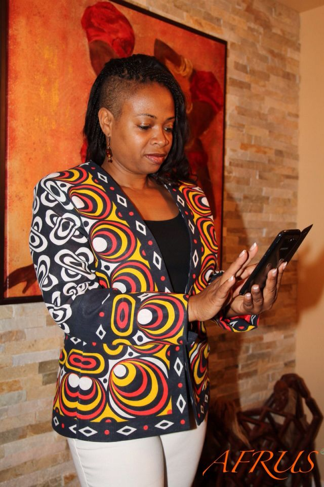 Angolan fabrics by AFRUS Fashion