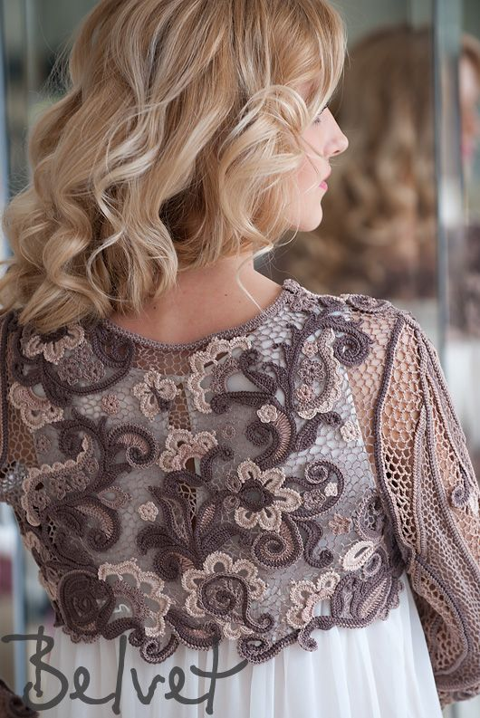 Design crochet lace by Victoria Belvet