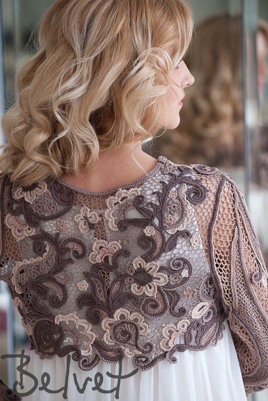 Design & crochet lace by Victoria Belvet, toujours les russes