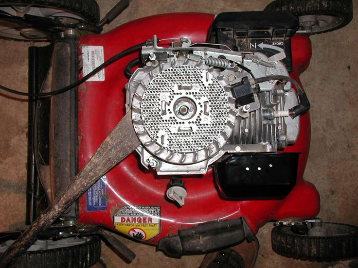 How to Repair a Lawn Mower Engine.