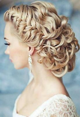 peinado trenzado y recogido para novias