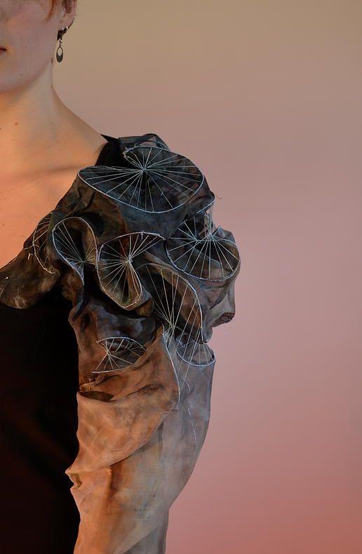 emilysladentextiles | Elastic Embroidery