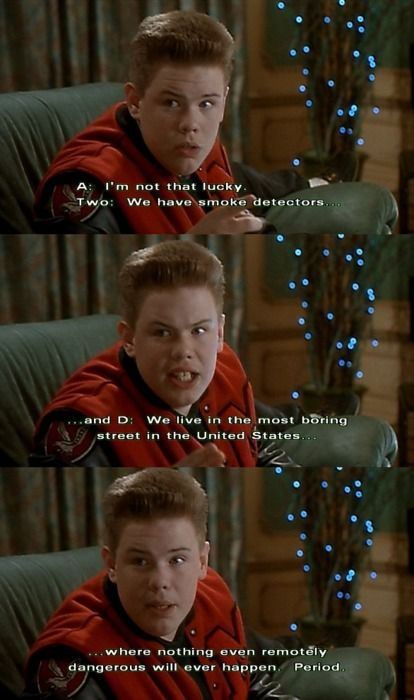 home alone white christmas scene
