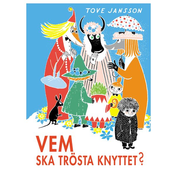 Swedish Edition. Who Will Comfort Toffle? is the second picture book in the Moomin series by Tove Jansson. It was first published in 1960. It was first translated into English by Kingsley Hart. The lonely Toffle leaves his home to look for friends, eventually finding the Miffle and rescuing her from The Groke.