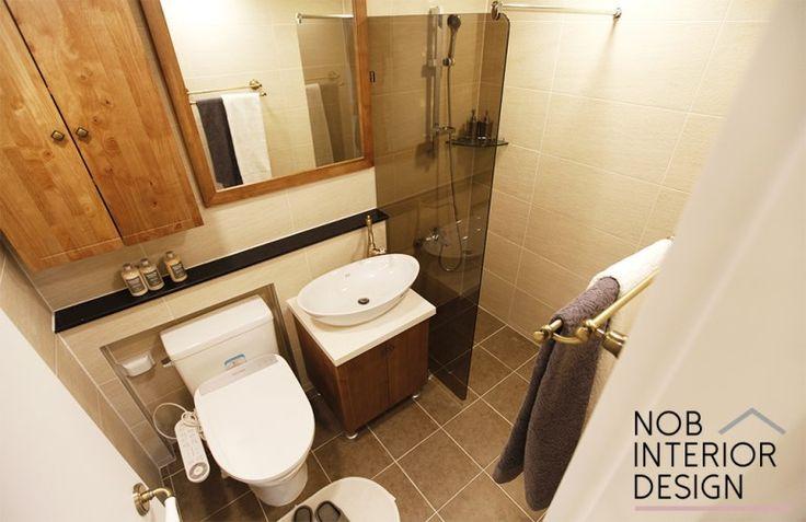 [범박동인테리어]깔끔한 욕실 리모델링+ 부천 범박동 현대 힐스테이트 45평 (범박동 홈타운 5단지) -노브인테리어