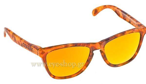 Γυαλιά Ηλίου  Oakley Frogskins 9013 9013 24-312  Acid Tortoise Orange Fire Iridium Τιμή: 91,00
