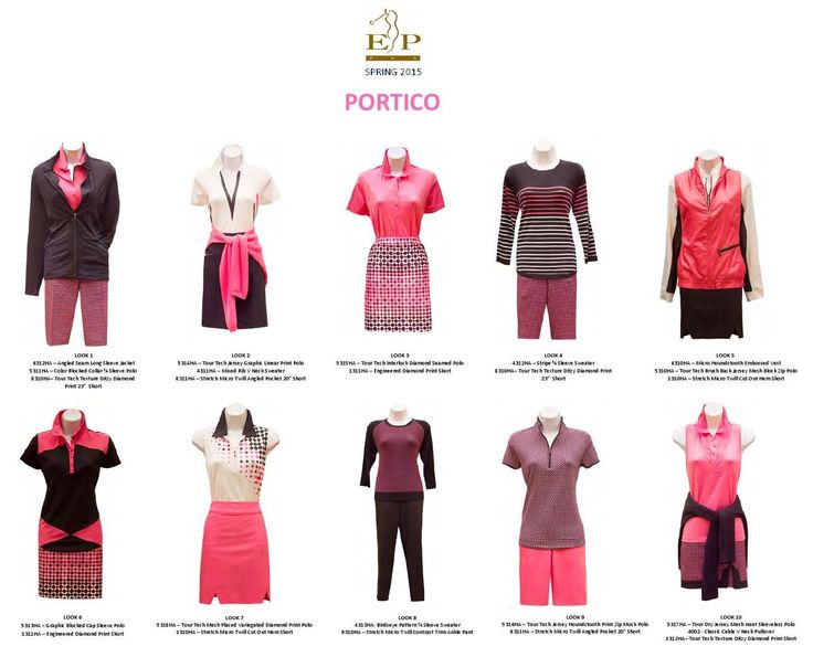 #ClippedOnIssuu from Ladies Golf EP Pro Spring 2015 Collection. Lots of women golf outfits to choose from! #lorisgolfsoppe