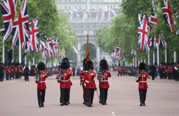 The colourful procession drew tens of thousands to the British capital. June 2013