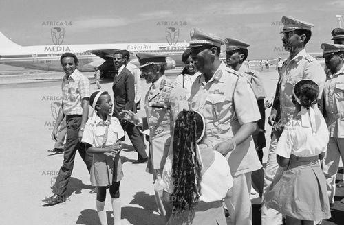 Haile Selassie & Siad Barre