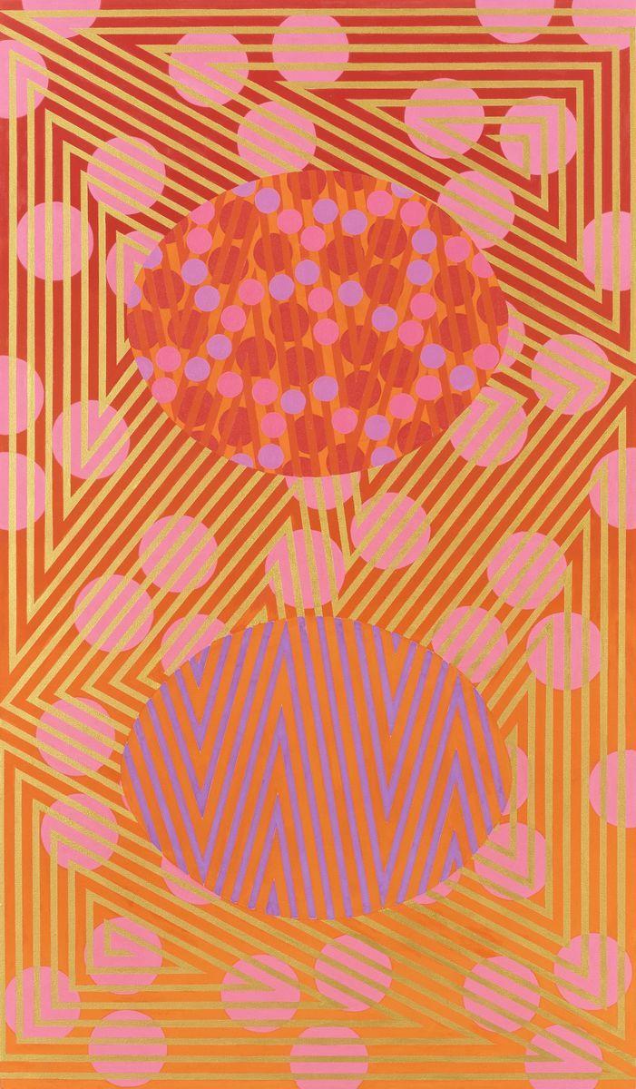 Distance-Absence #5, 2015 by Mari Rantanen. Acrylic and pigment on canvas. 182x110 cm. Price 14 000€. Inquiries: sari.seitovirta@seitsemanvirtaa.com / GALERIE SEITSEMÄN VIRTAA