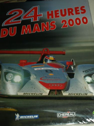 NEW-24-HOURS-HEURES-LE-MANS-OFFICIAL-YEARBOOK-ACO-2000-AUDI-R8-PANOZ-PESCAROLO