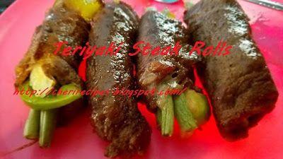 Cheryl's+Wicked+Spoon+Cooking:+Teriyaki+Steak+Rolls