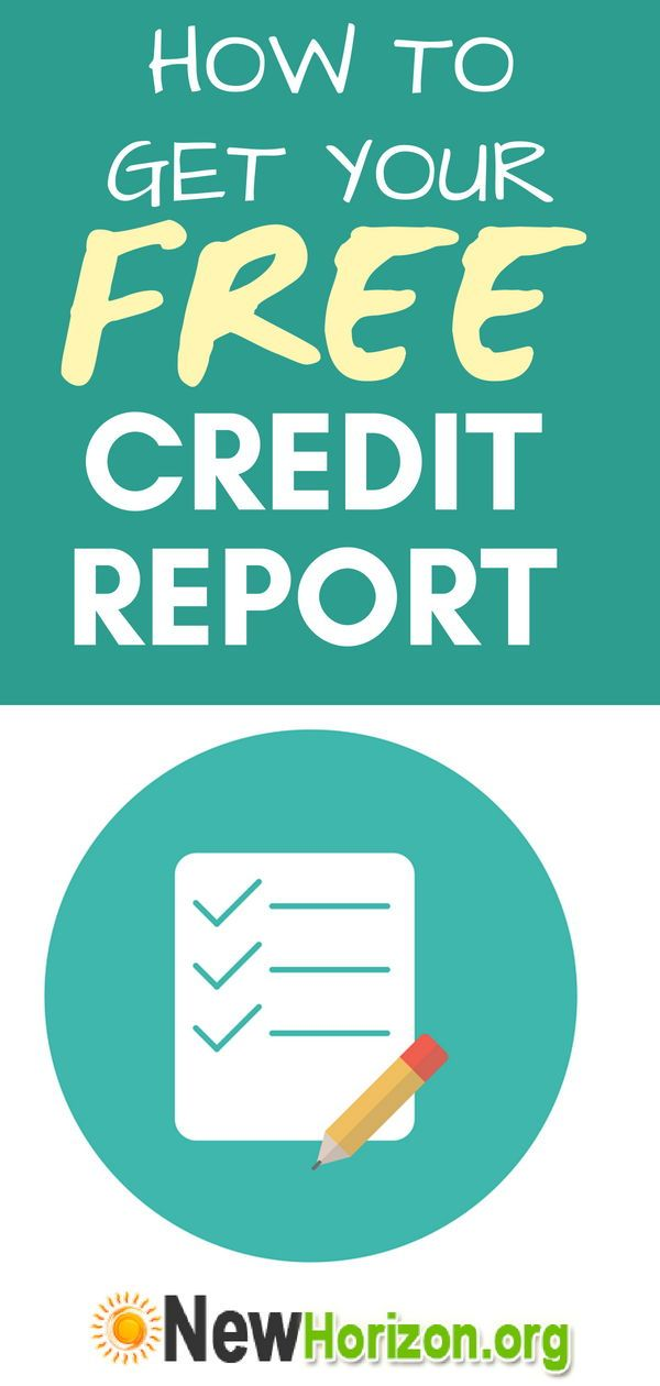 How To Get Your Free Credit Report Check Credit Score What Is