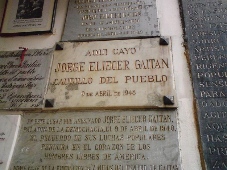 A Jorge Eliécer Gaitán