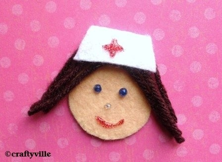 nurse crafts - to remember the women who gave their lives tending the injured soldiers