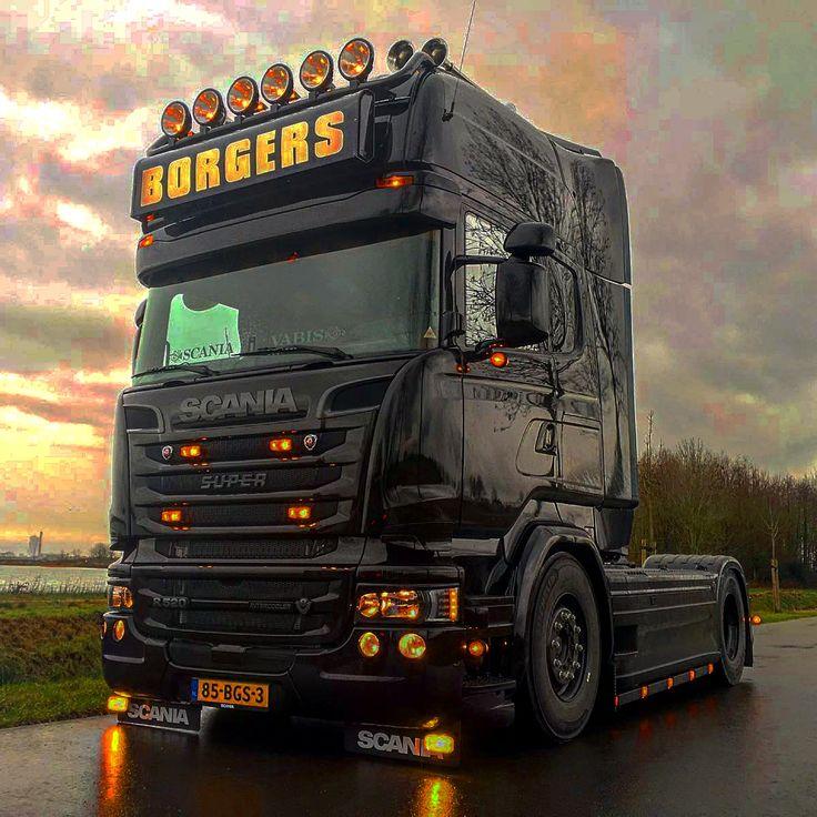 super dikke Scania S-U-P-E-R Truck LKW
