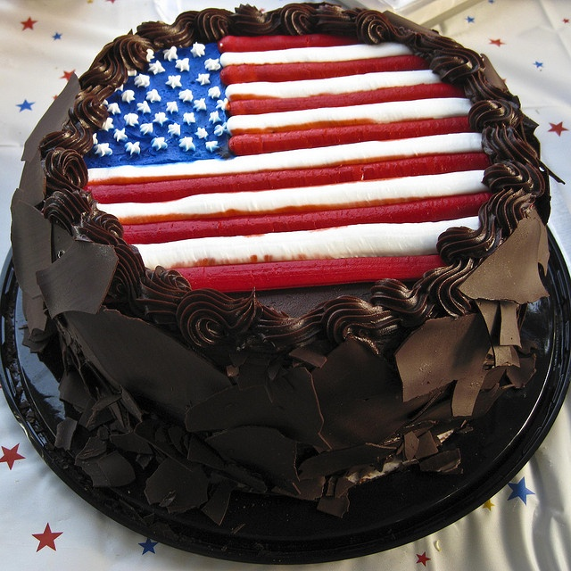 56 Best 4th Of July Cake Ideas Images On Pinterest
