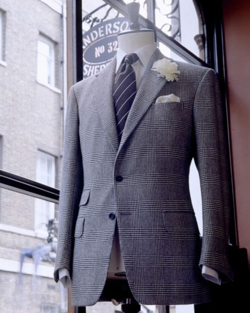 Anderson and Sheppard Bespoke Suit | Die, Workwear! - Watching Anderson & Sheppard's Tailoring